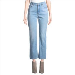 Eileen Fisher High Waist Ankle Boot Denim Jean